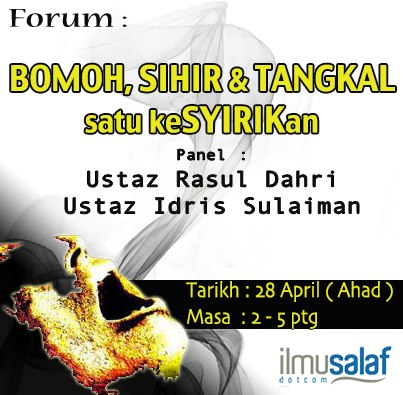 forum april mediu - bomoh sihir tangkal